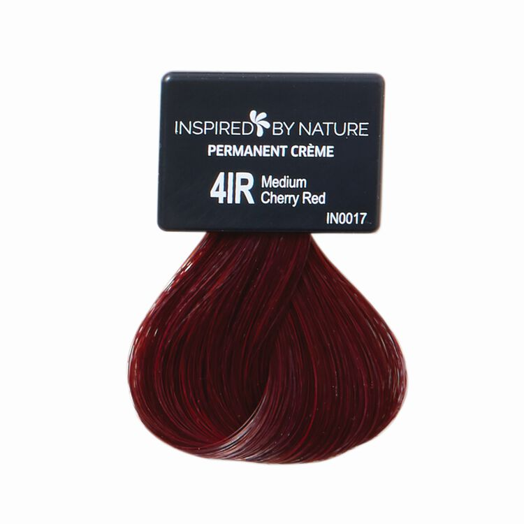 Ammonia-Free Permanent Hair Color Medium Cherry Red 4IR