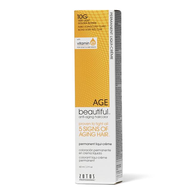 10G Very Light Golden Blonde Permanent Liqui-Creme Hair Color