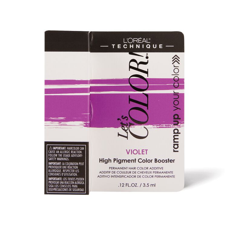 Let's COLOR! Conditioning Gelee Permanent Haircolor Violet Booster