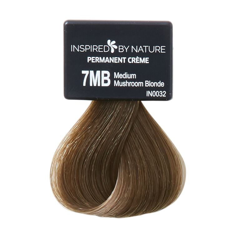 Ammonia-Free Permanent Hair Color Medium Mushroom Blonde 7MB
