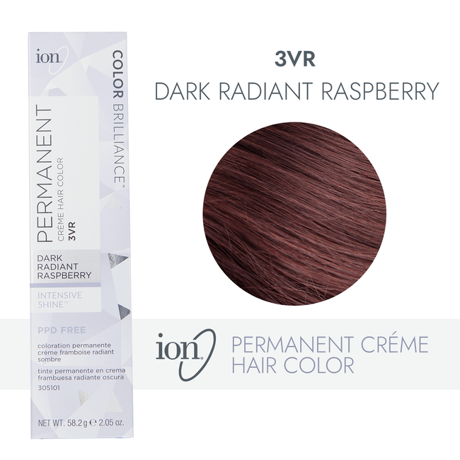3VR Dark Radiant Raspberry Permanent Creme Hair Color