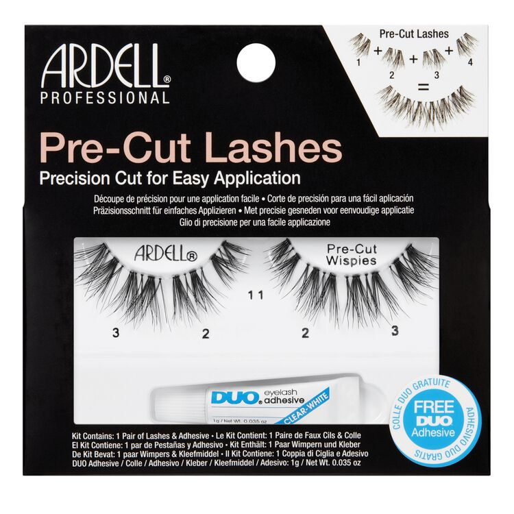 Pre-Cut Wispies Lashes