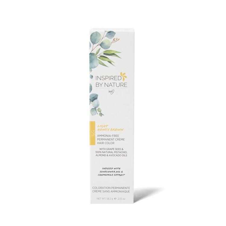 Ammonia-Free Permanent Hair Color Light Honey Brown 5G
