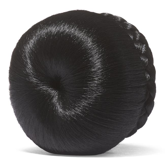 Off Black Donut Bun