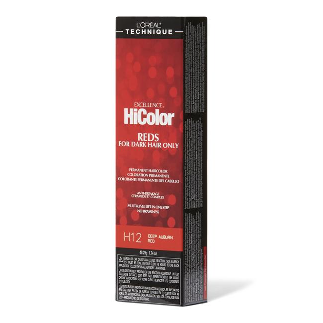 Deep Auburn Red Permanent Creme Hair Color
