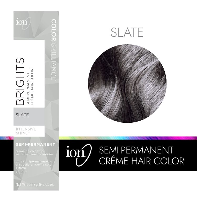 Slate Semi Permanent Hair Color