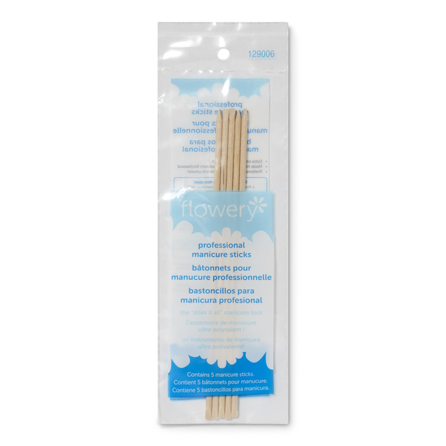 6 Inch Birchwood Manicure Sticks
