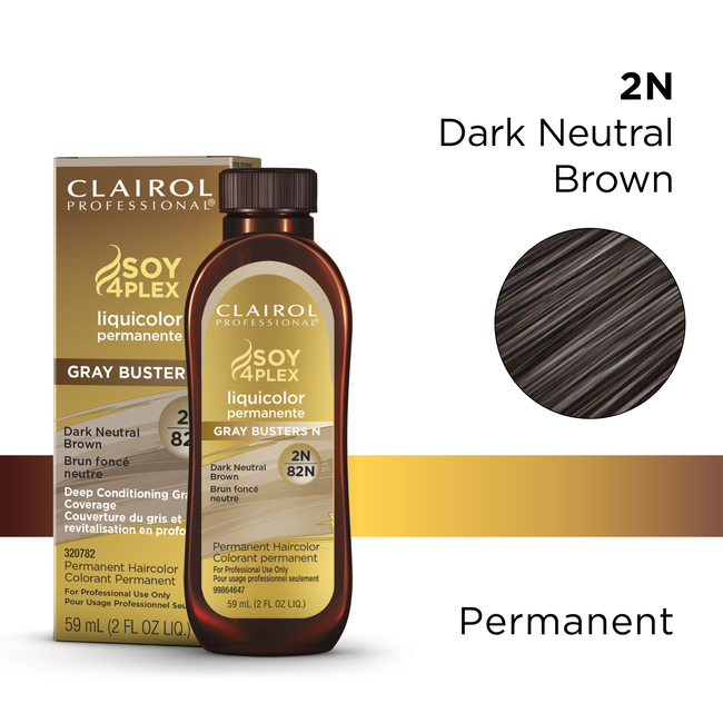 Clairol Pro Liquicolor 82N Dark Neutral Brown
