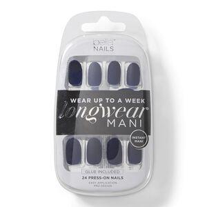 Navy Matte Press On Nails