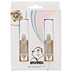 System 75 Gold Piercing Earrings