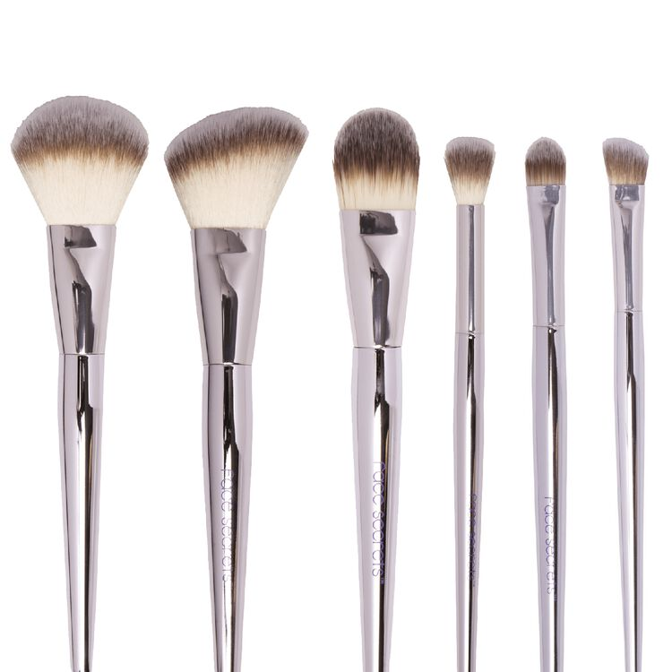 6 Piece Cosmetic Brush Set
