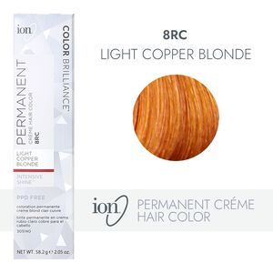 8RC Light Copper Blonde Permanent Creme Hair Color