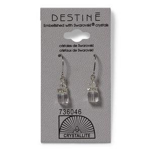 Destine Cube Dangle Earrings