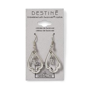 Destine Trefoil Dangle Earrings