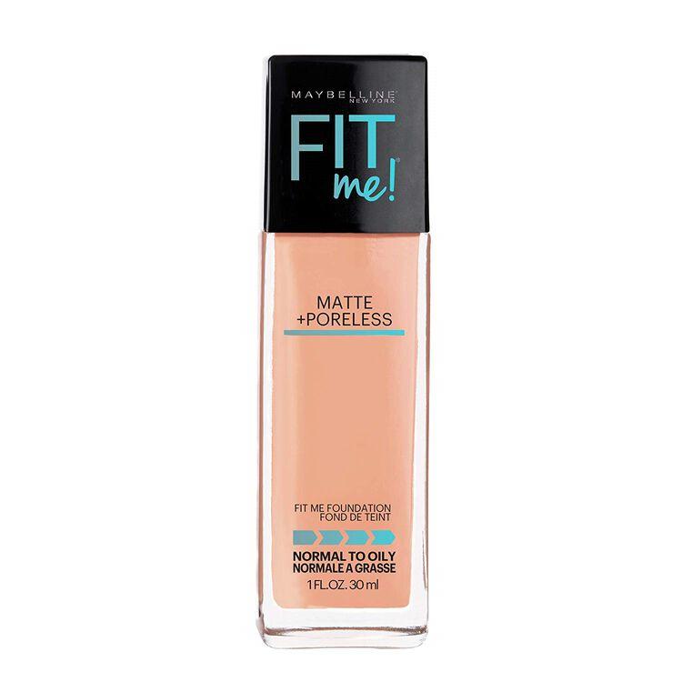 Fit Me Matte + Poreless Liquid Foundation Natural Tan