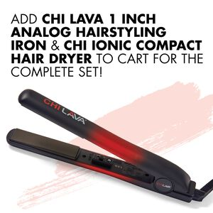 Lava 1 Inch Analog Hairstyling Iron