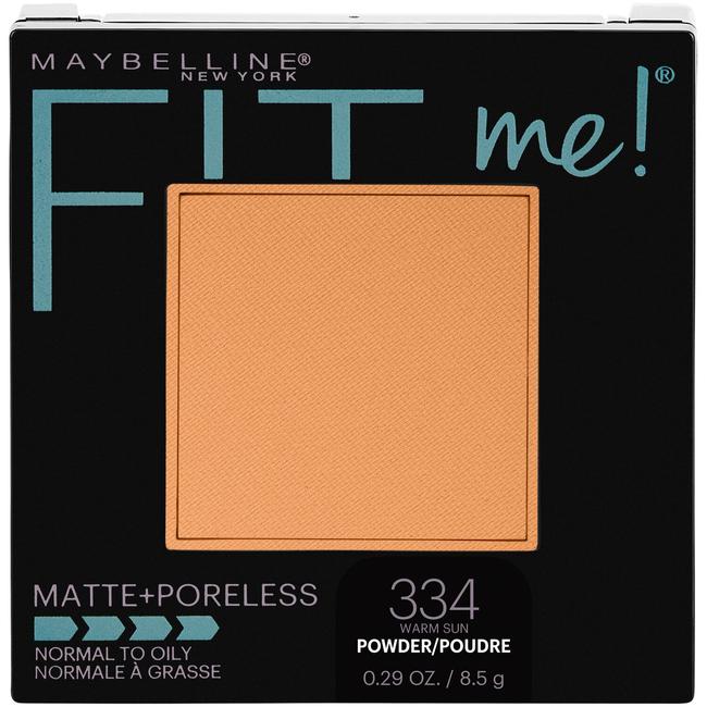 Fit Me Matte + Poreless Powder Warm Sun