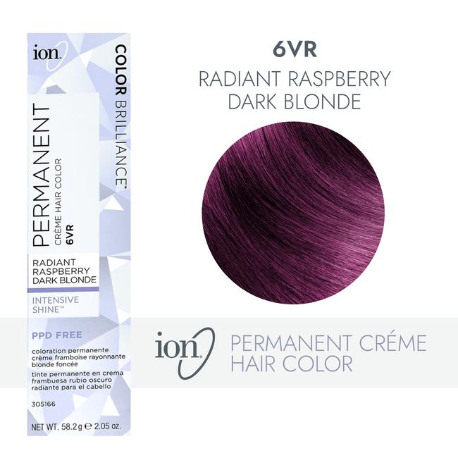 6VR Radiant Raspberry Dark Blonde Permanent Creme Hair Color