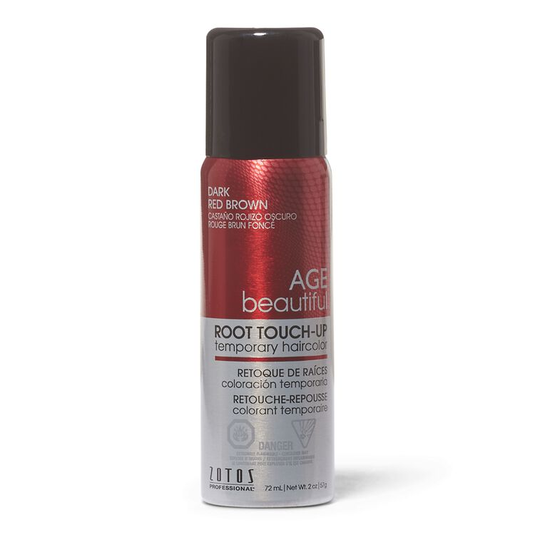 Dark Red Brown Root Touch Up Spray Temporary Hair Color