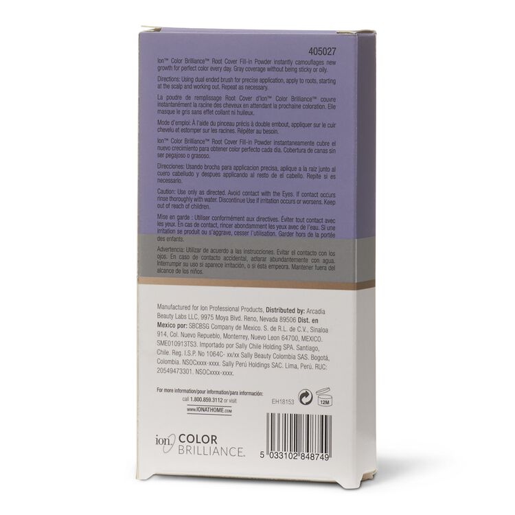 Light/Medium Brown Root Cover Fill-in Powder