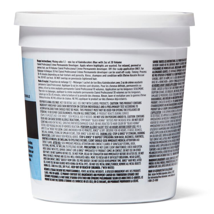 Kaleidocolors Blue Powder Lightener