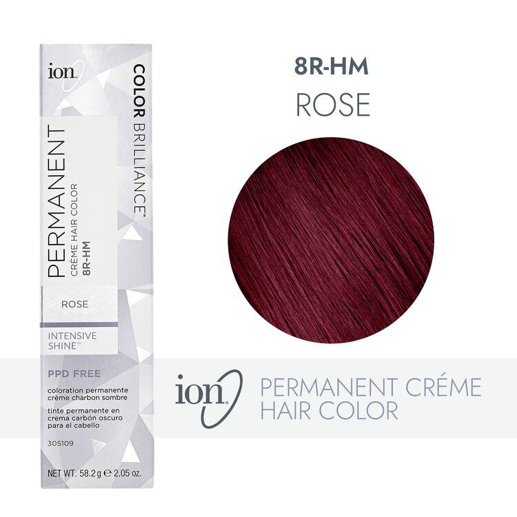 8R-HM Rose Permanent Creme Hair Color