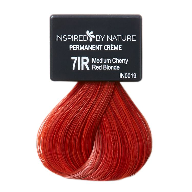 Ammonia-Free Permanent Hair Color Medium Cherry Red Blonde 7IR