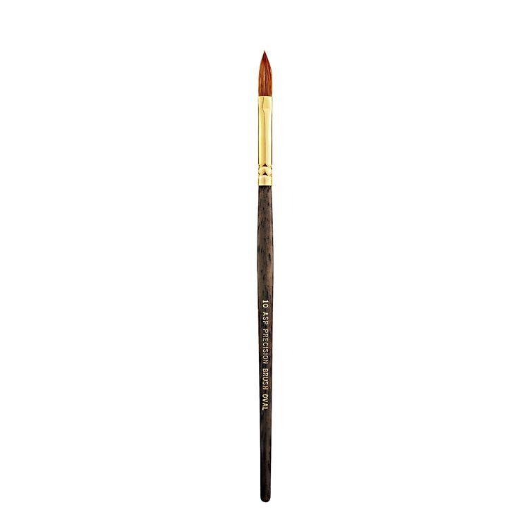 #10 Oval Acrylic Brush