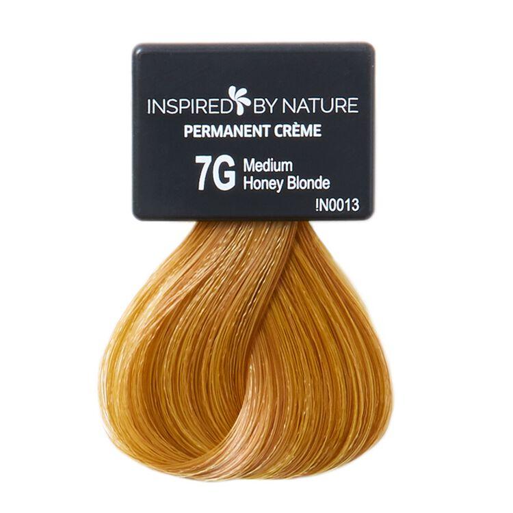 Ammonia-Free Permanent Hair Color Medium Honey Blonde 7G