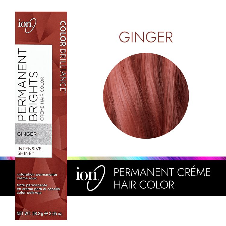 Permanent Brights Creme Hair Color Ginger