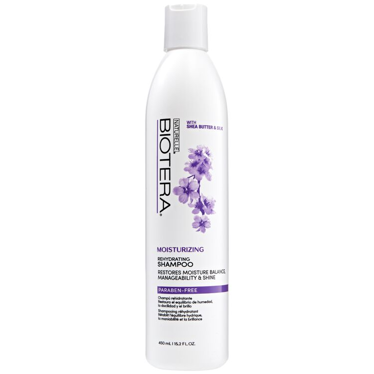 Moisturizing Rehydrating Shampoo with Shea Butter & Silk 15.2 oz