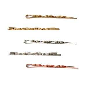 Silver Rose Gold Bobby Pins