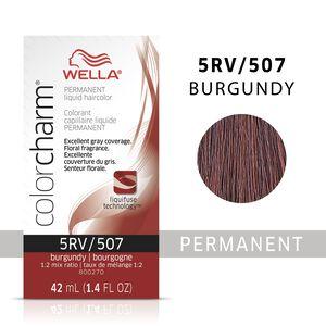 Burgundy Color Charm Liquid Permanent Hair Color
