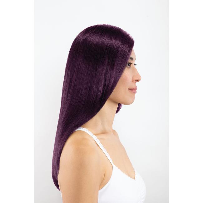 4V Dark Plum Brown Permanent Liqui-Creme Hair Color