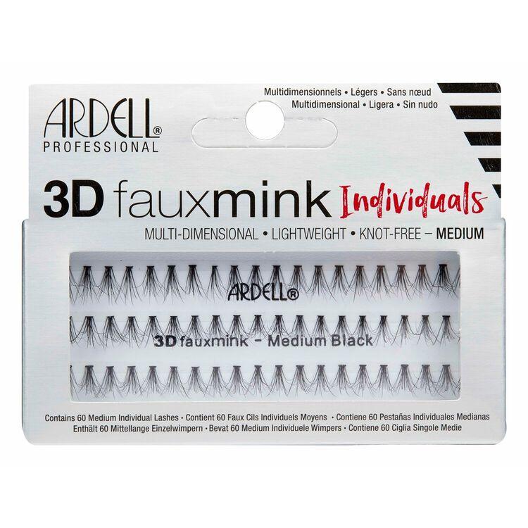 3D Faux Mink Individual Medium