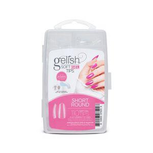 Gelish Soft Gel Tips - Short Round (110CT)