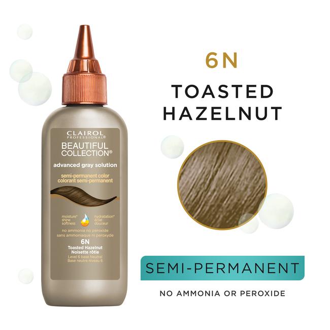6N Toasted Hazelnut Semi Permanent Hair Color