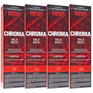 CHROMA True Reds Permanent Hair Color