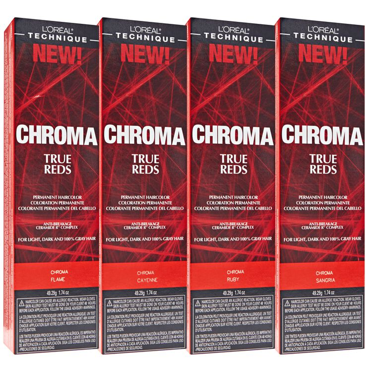 CHROMA True Reds Permanent Hair Color