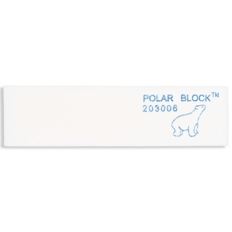 Four-Sided Soft White Polar Block