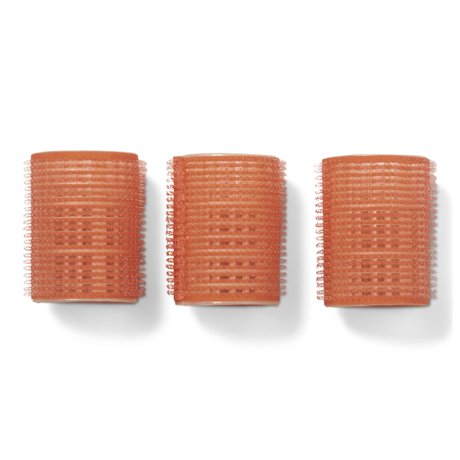 Salmon 1-3/4 Inch Classic Style Self Grip Rollers 3 Pack