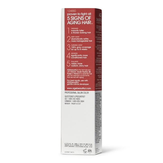 4R Dark Red Brown Permanent Liqui-Creme Hair Color
