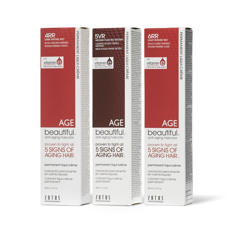 Anti Aging Permanent Liqui Creme Shades of Intrigue Haircolor