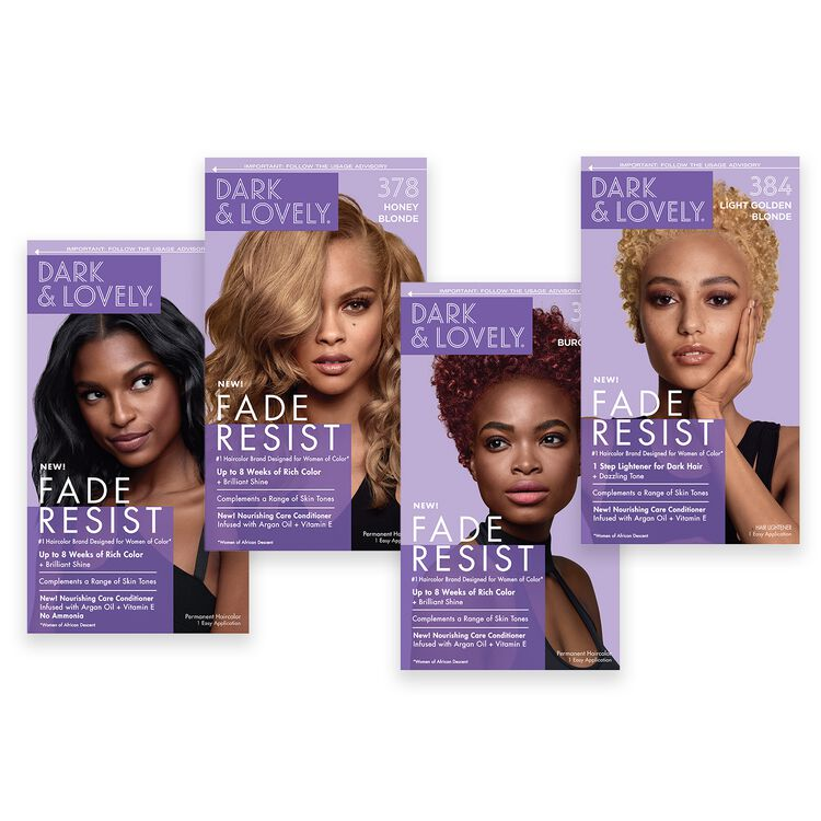 Fade Resistant Permanent Hair Color