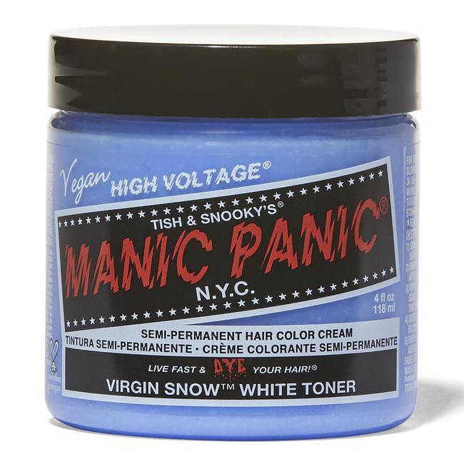 Manic Panic Semi-Permanent Color Cream Virgin Snow