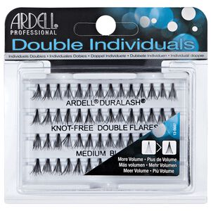 Double Individual Medium Lashes