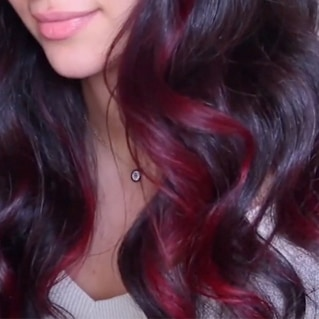 Dark to Red look