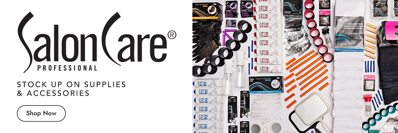 Salon Care Professional. Stock up on supplies and accessories.