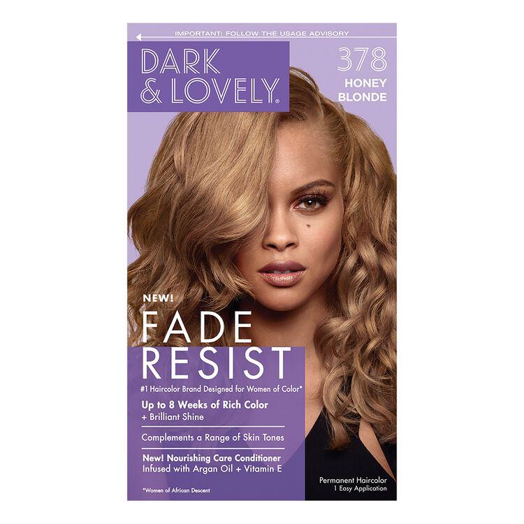 Fade Resistant Honey Blonde Permanent Hair Color