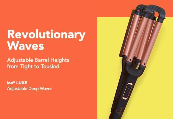 ion Luxe Adjustable Deep Waver